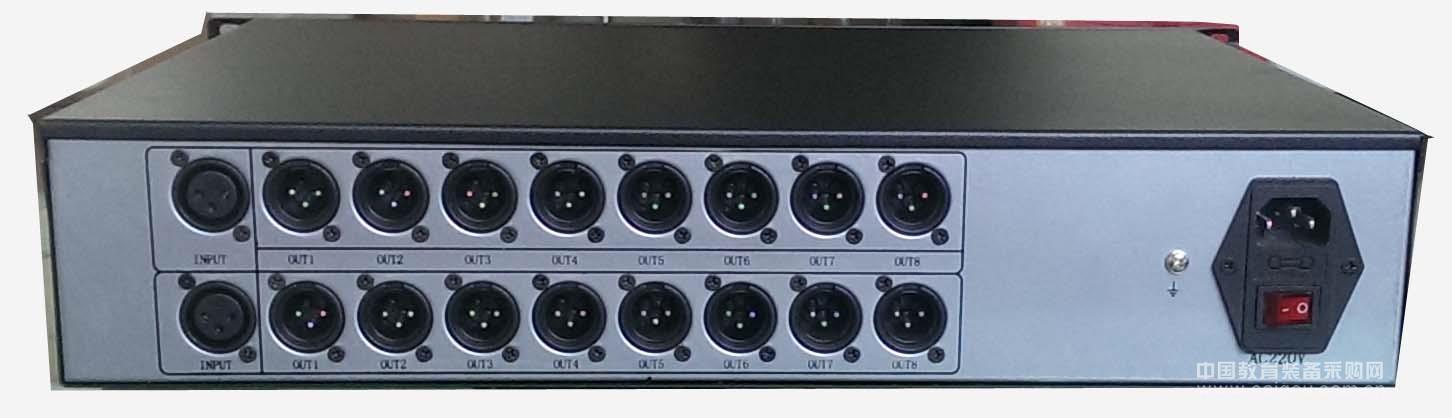 话筒音频分配器