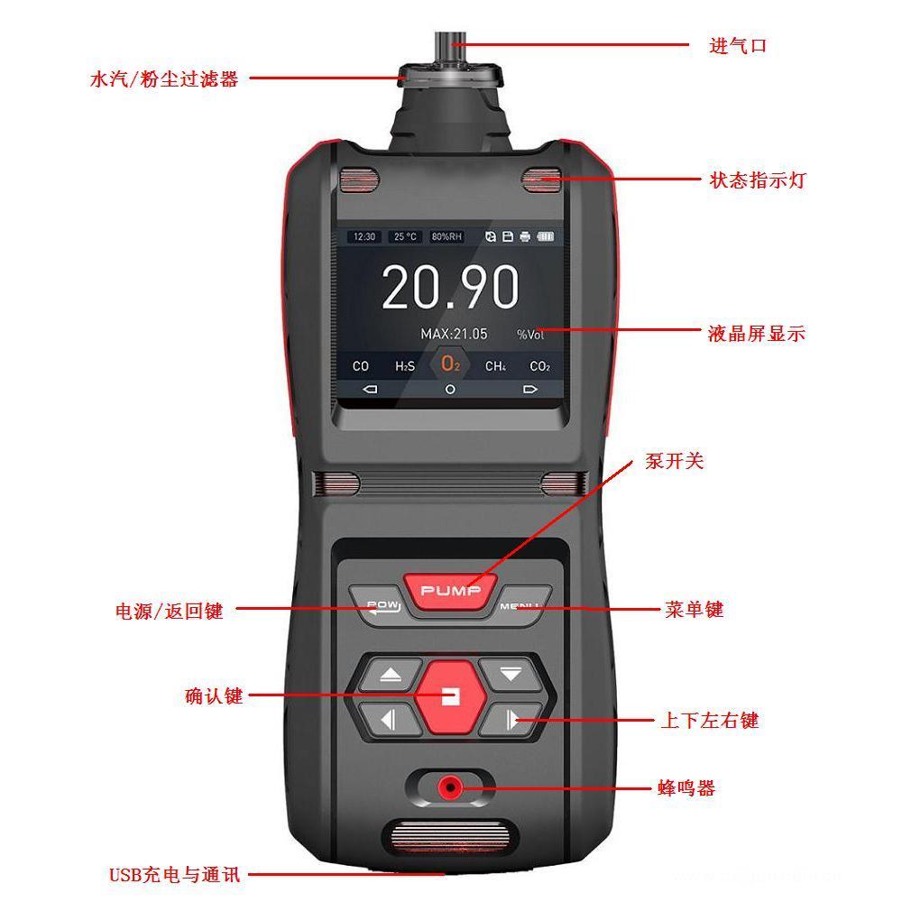 NH3报警器|氨气测试仪|畜牧养殖专用便携式氨气分析仪
