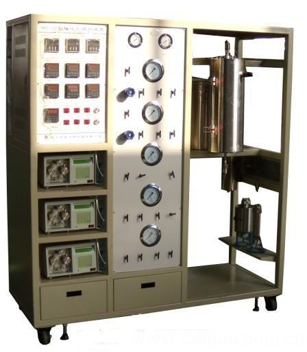 固定床反应器,流化床反应器,天津大学流化床生物裂解实验装置